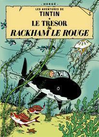 Poster - Tintin Le tresor de Rackham le Rouge - Rackham den Rödes skatt