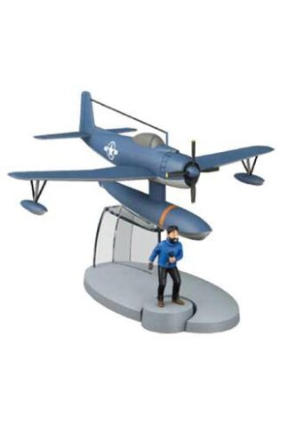 Tintin - Blått sjöflygplan USS L-A (Koks i lasten)