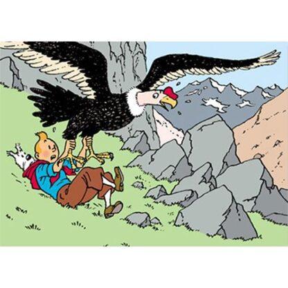 Poster - Tintin Le Temple du Soleil – Solens tempel - Condor