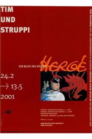 Poster - Utställningsaffisch - Hanover 2001
