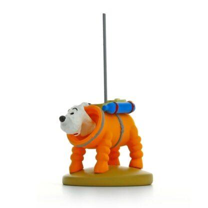 Tintin - Statyett - Milou i rymddräkt
