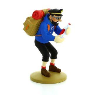 Tintin - Statyett - Hadock med tom flaska