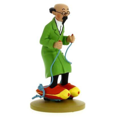 Tintin - Statyett - Professor Kalkyl på rullskridskor