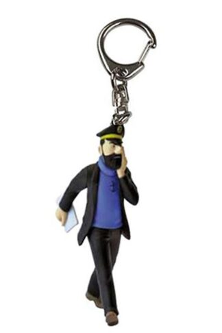 Tintin - Nyckelring i plast - Kapten Haddock