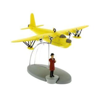 Tintin - Sjöflygplan (De sju kristallkulorna)