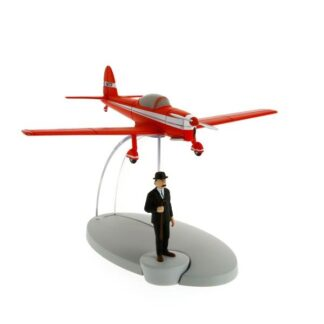 Tintin - Rött flygplan (Den svarta ön)