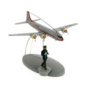 Tintin - Syldair flygplan (Månen tur och retur)