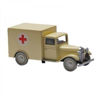 Tintin - The ambulance of the lunatic asylum