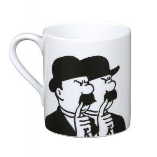 Tintin - Mugg - Dupond och Dupont