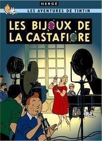 Poster - Tintin Les Bijoux de la Castafiore -Castafiores juveler