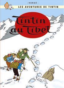 Poster - Tintin au Tibet - Tintin i Tibet