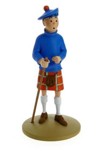 Tintin - Statyett - Tintin i kilt