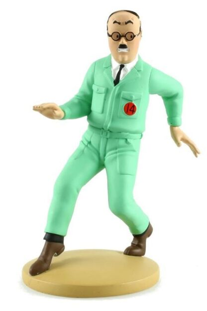Tintin - Statyett - Assistent Ingenör Frank Wolff