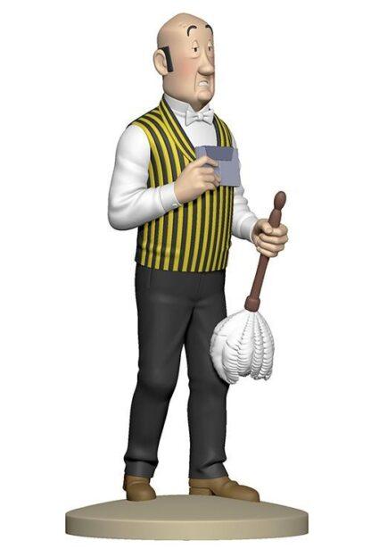 Tintin - Statyett - Nestor med dammvippa