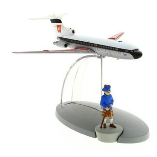 Tintin - British European Airways plane (Den svarta ön)