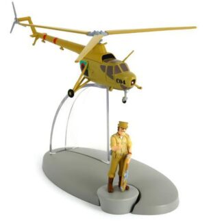 Tintin -The San Theodoros army helicopter (Tintin hos gerillan)