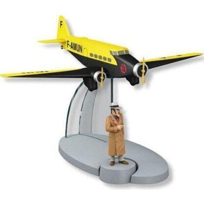 Tintin - The Air France plane (Det sönderslagna örat)