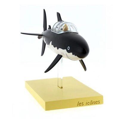 Tintin och Milou i ubåt - Resin - Rackham den rödes skatt
