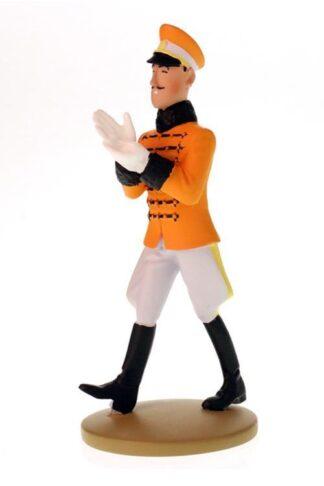 Tintin - Statyett - Muskar