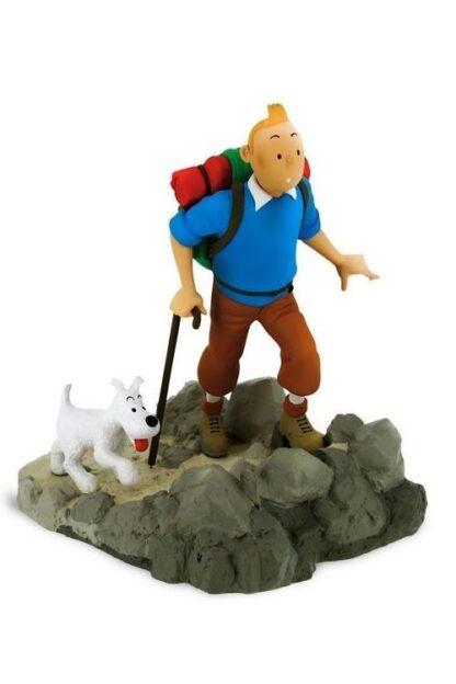 Tintin - Resin - Tintin och Milou bergsvandring