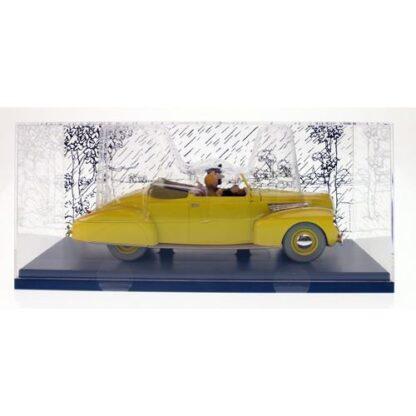 Tintin - 1:24 Modellbil #2 - Haddocks Lincoln Zephyr convertible