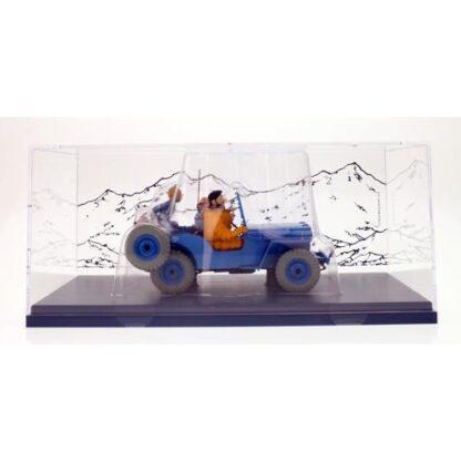 Tintin - 1:24 Modellbil #4 - Blue Willys