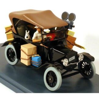 Tintin - 1:24 Modellbil #5 - Black Ford Model T