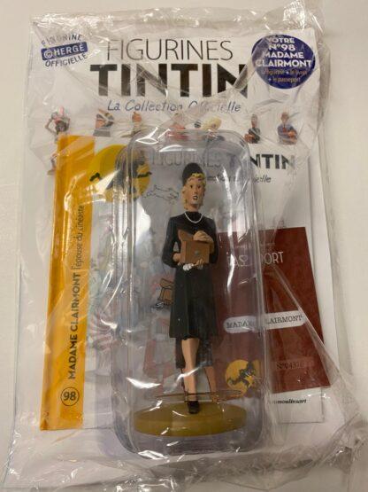 Tintin - Statyett N98 - Madame Clairmont - RARE
