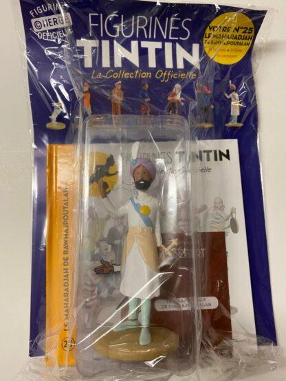 Tintin - Statyett N25 - Maharadjan av Rawhajpoutalah - RARE