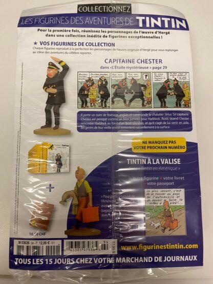 Tintin - Statyett N94 - Capitaine Chester - RARE