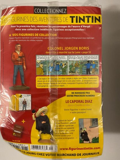 Tintin - Statyett N96 - Colonel Jorgen Boris - RARE