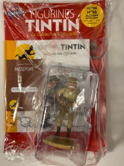 Tintin - Statyett N56 - General Alcazar - RARE