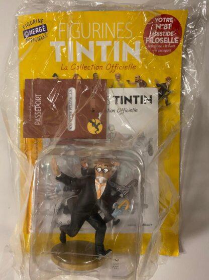 Tintin - Statyett N81 - Aristide Filoselle - RARE