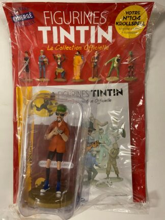 Tintin - Statyett N104 - Krollspell - RARE