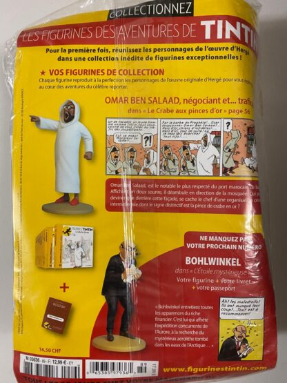 Tintin - Statyett N89 - Omar Ben Salaad - RARE