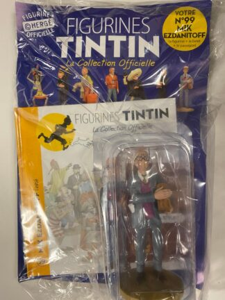 Tintin - Statyett N99 - Mik Ezdanitoff - RARE