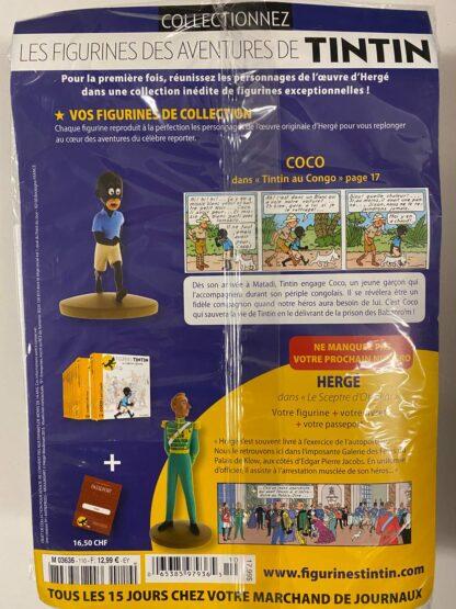 Tintin - Statyett N110 - Coco - RARE