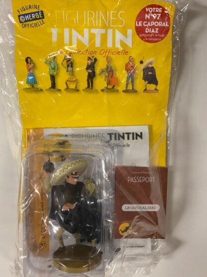Tintin - Statyett N97 - Le Caporal Diaz - RARE