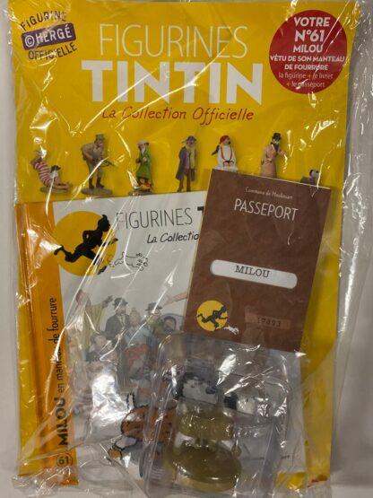 Tintin - Statyett N61 - Milou - RARE
