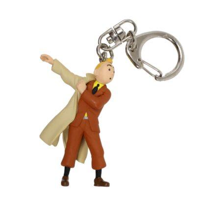 Tintin - Nyckelring i plast - Tintin i rock
