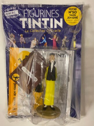 Tintin - Statyett N50 - Wang Jen-Ghié - RARE