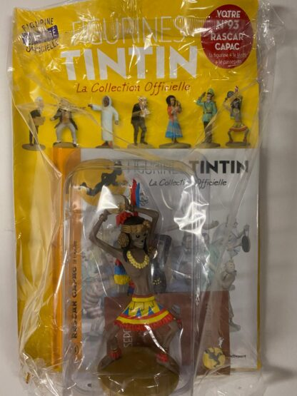 Tintin - Statyett N93 - Rascar Capac - RARE