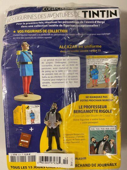 Tintin - Statyett N42 - Alcazar En Uniforme - RARE
