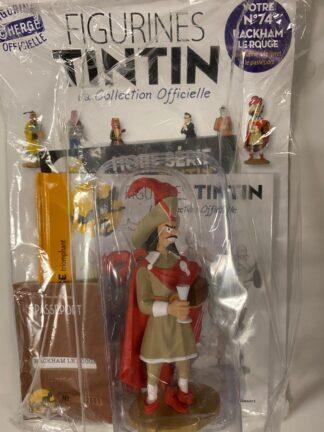 Tintin - Statyett N74 - Rackham Le Rouge - RARE