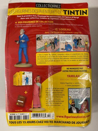 Tintin - Statyett N84 -G. Loiseau - RARE