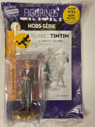 Tintin - Statyett N83 - Igor Wagner - RARE