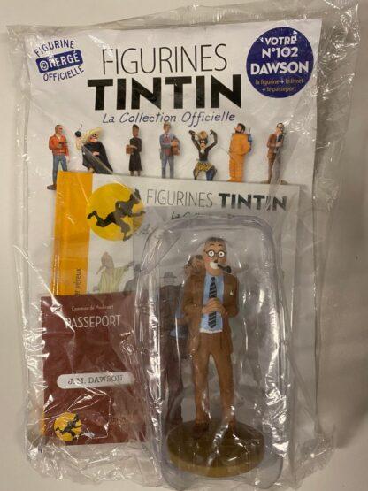 Tintin - Statyett N102 - Dawson - RARE