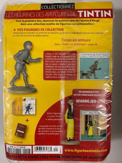 Tintin - Statyett N49 - Tintin En Armure - RARE