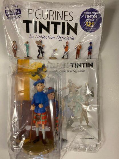 Tintin - Statyett 22 - Tintin En Kilt - RARE