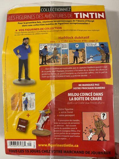 Tintin - Statyett N9 - Haddock Dobitatif - RARE